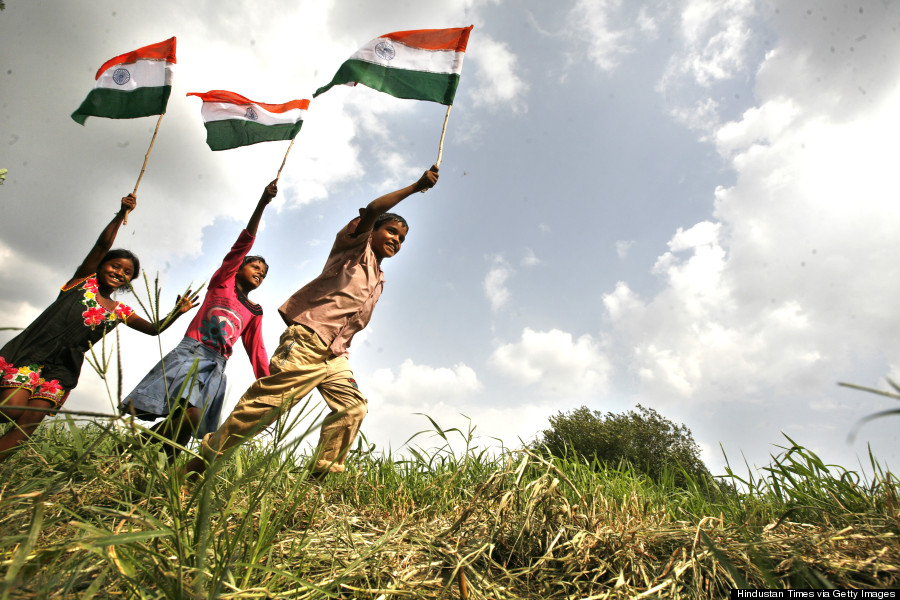 Indians Celebrate Independance Day